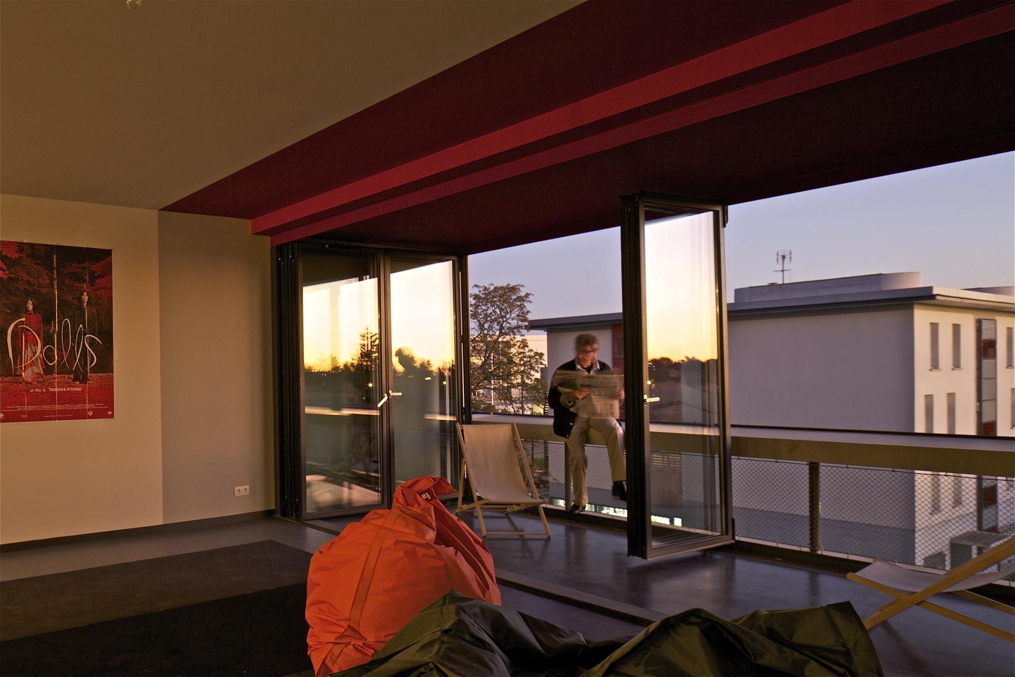 Enerji verimli apartmanın çatısında sebze bahçeleri var