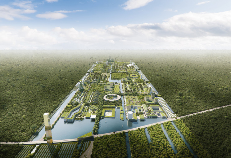 Tamamen kendi kendine yeten dünyanın ilk akıllı orman şehri