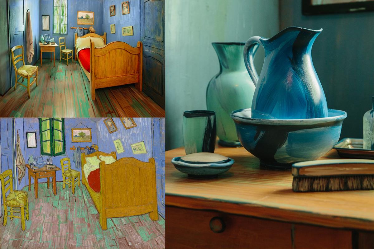 Van Gogh'un ünlü yatak odası yeniden yaratılarak sanat severlere geceliği 10 dolardan kiralandı