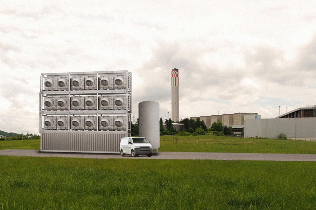 Dünyanın İlk Havadan Karbondioksit Toplayan Santrali